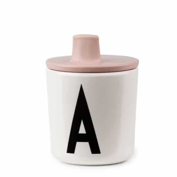 Design Letters Schnabelaufsatz für persönlichen Trinkbecher nude 1
