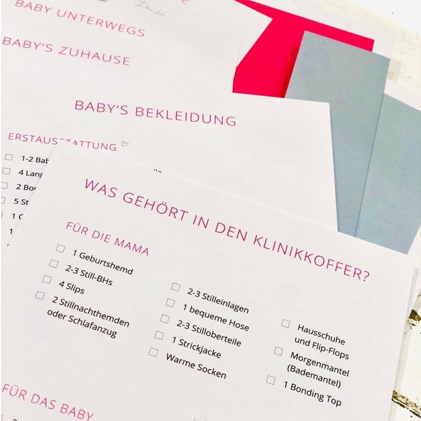 Baby Erstausstattung-Checkliste
