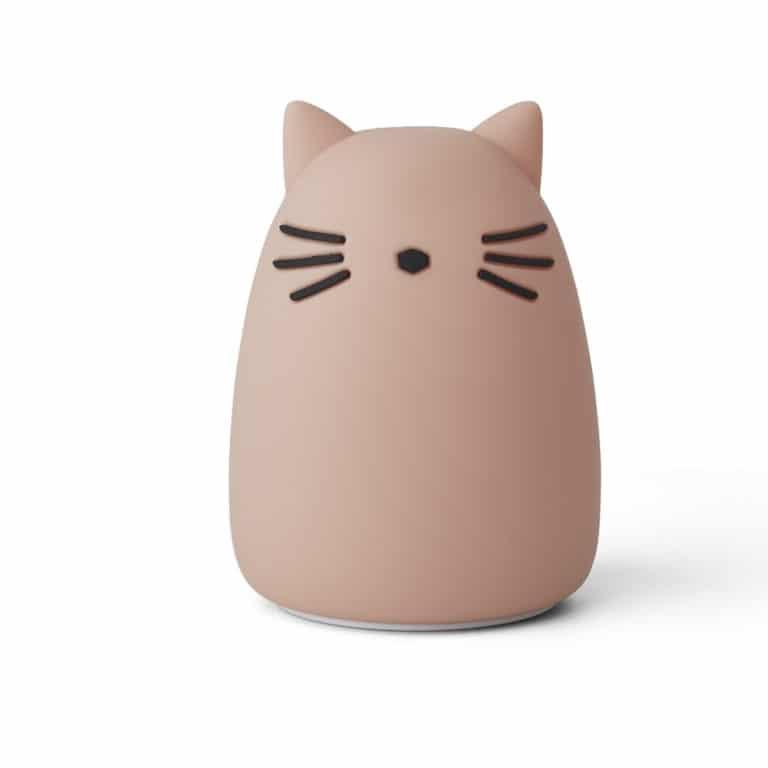 Liewood Nachtlicht Winston Katze cat rosé