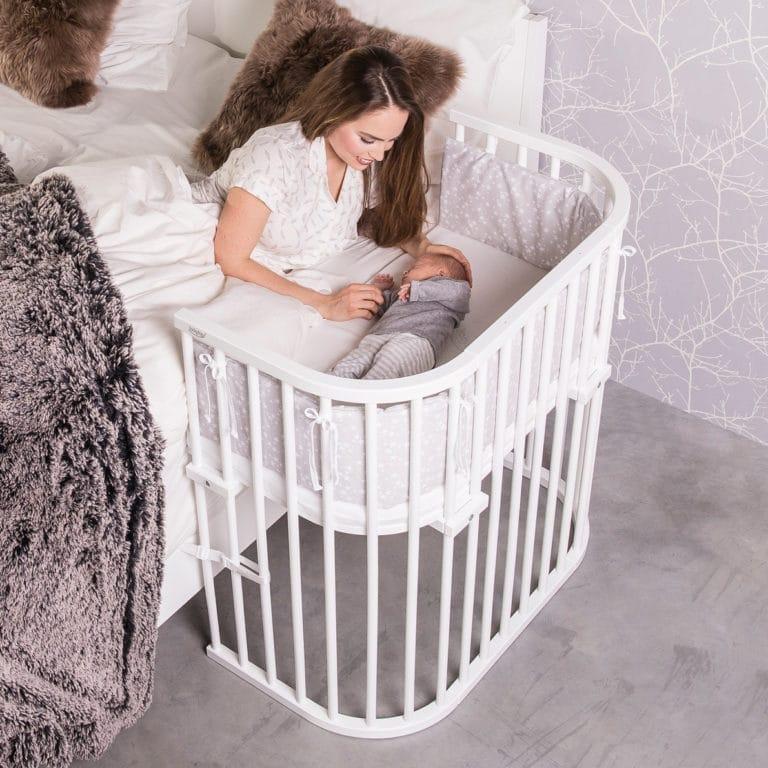 Babybay Original Beistellbett, weiß lackiert 2