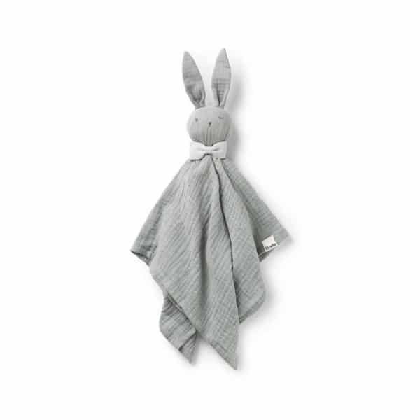 Blinkie Bo, mineral green - Kuscheltuch Hase