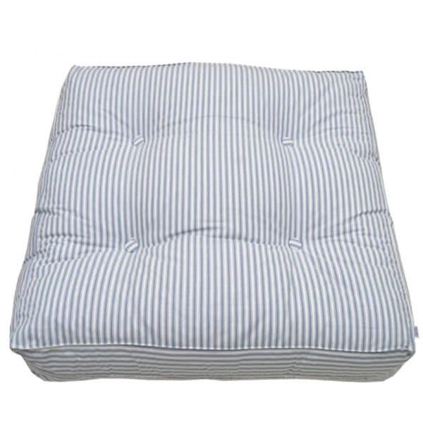 Oliver Furniture Seaside Bodenkissen blau-Streifen