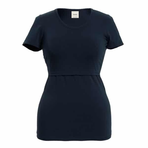 Boob Still-Shirt, Kurzarm, midnight blue