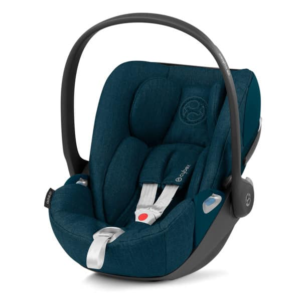 Cybex Cloud Z i-Size, Comfort + Plus Design, Mountain-Blue-Plus