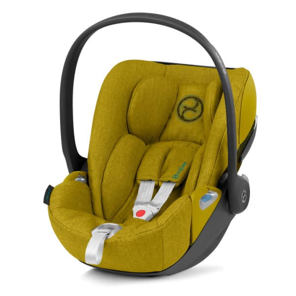 Cybex Cloud Z i-Size, Comfort + Plus Design, Mustard-Yellow-Plus