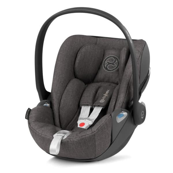 Cybex Cloud Z i-Size, Comfort + Plus Design, Soho-Grey-Plus