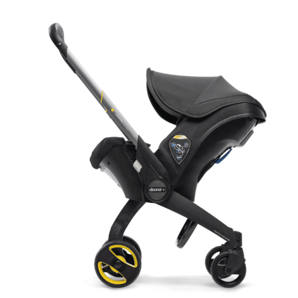Doona+ Die Babyschale mit integriertem Travelsystem nitro black