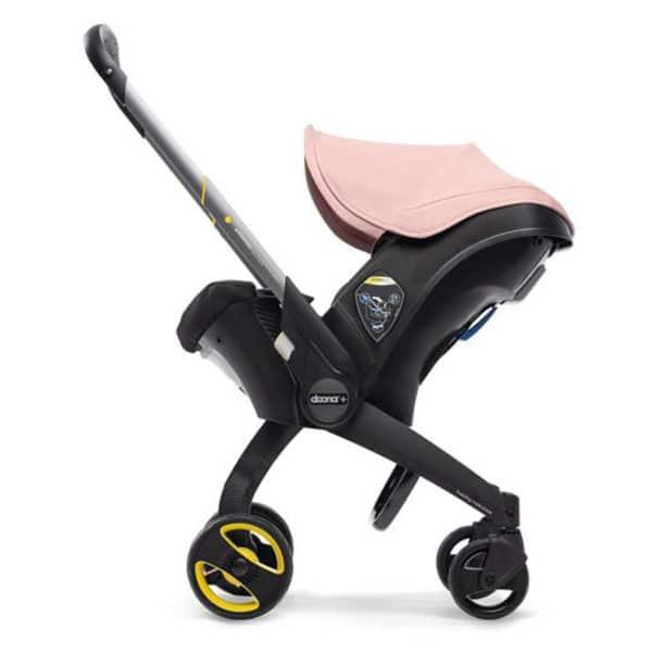Doona+ Die Babyschale mit integriertem Travelsystem blush-pink