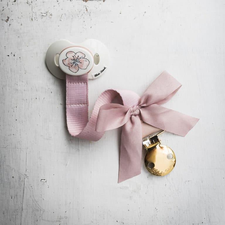 Elodie Details Schnullerband Powder Pink 2