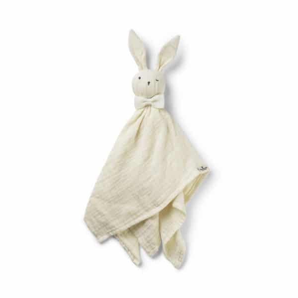 Blinkie Bonnie, vanilla white - Kuscheltuch Hase