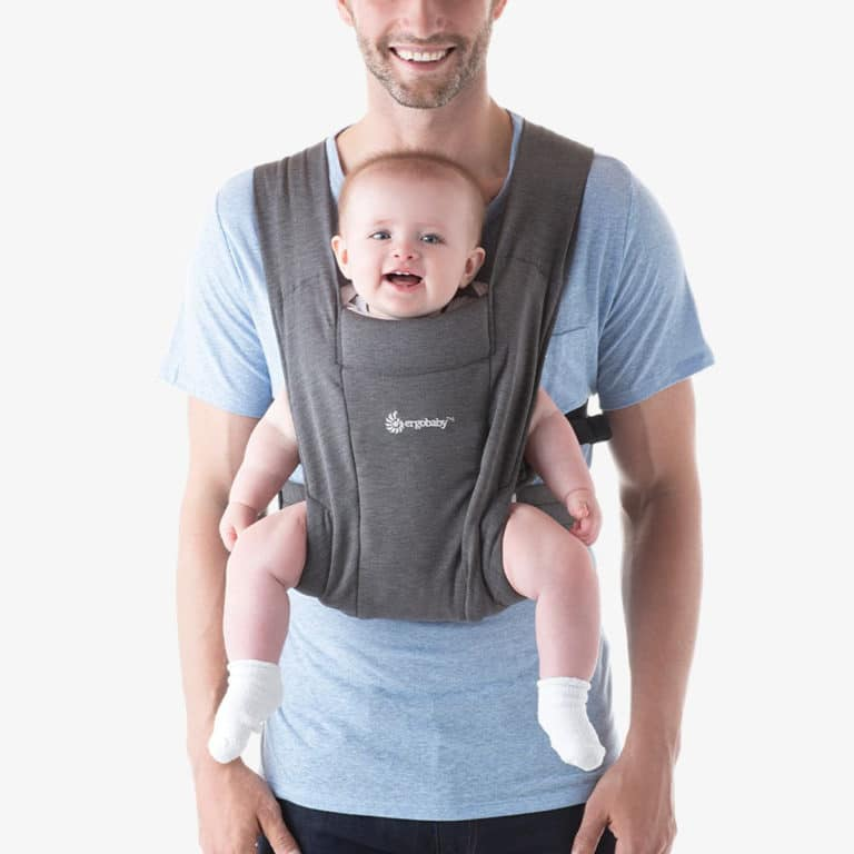 Ergobaby Embrace Neugeborenentrage Heather Grey 2