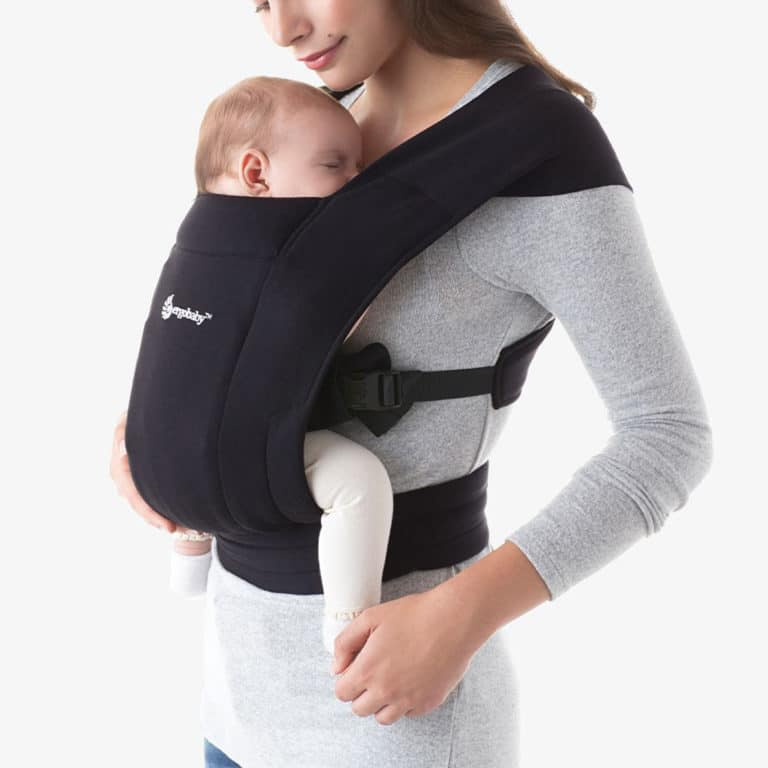 Ergobaby Embrace Neugeborenentrage Pure Black 2