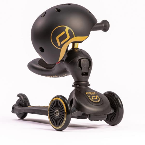 Scoot and Ride Baby Helm - Highway Kick 1 Scooter, Special Edition schwarz