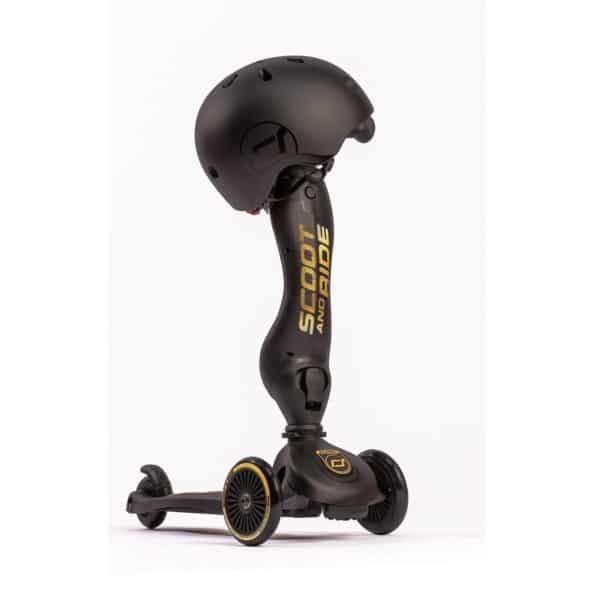 Baby Helm - Highway Kick 1 Scooter, Special Edition schwarz 2