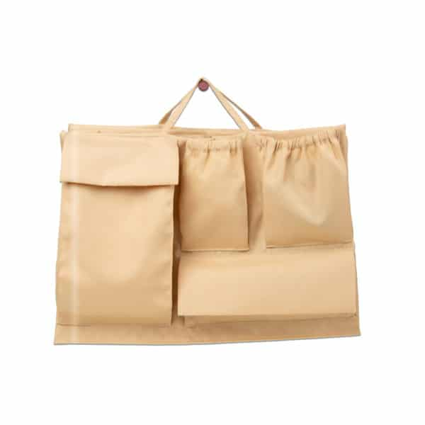 Lilibell Wickeltasche Bag-in-bag beige
