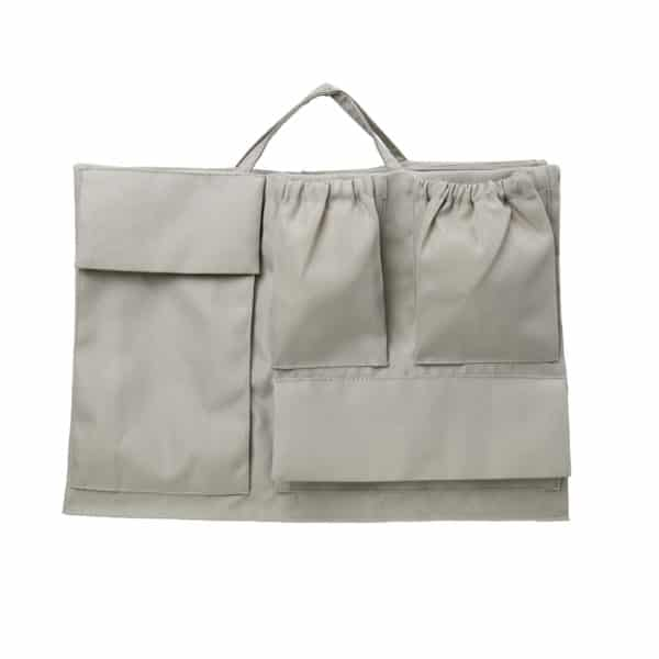 Lilibell Wickeltasche Bag-in-bag grau
