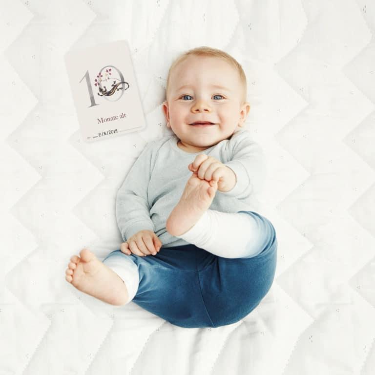 """Milestone Fotokarten """"Babys erstes Jahr"""""""