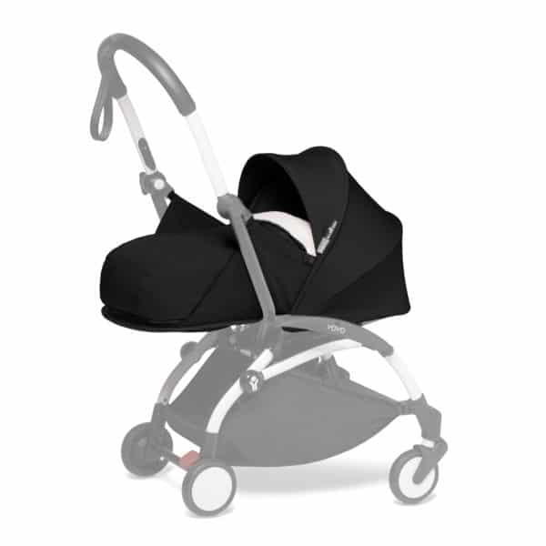 BABYZEN YOYO 0+ Neugeborenen-Set schwarz