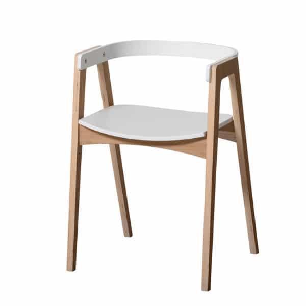 Oliver Furniture Wood Schreibtisch 66 cm & Armlehnstuhl 4