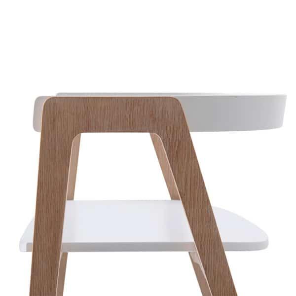 Oliver Furniture Wood Schreibtisch 66 cm & Armlehnstuhl 11