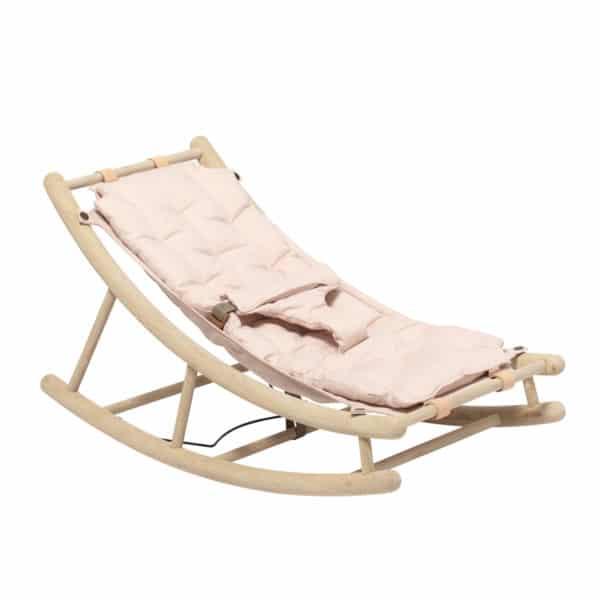 Oliver Furniture Wood Baby- und Kleinkindwippe rosa