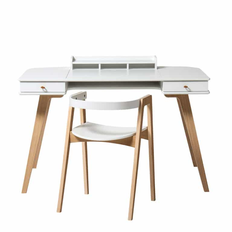 Oliver Furniture Wood Schreibtisch 66 cm & Armlehnstuhl