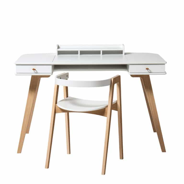 Oliver Furniture Wood Schreibtisch 72,6 cm & Armlehnstuhl