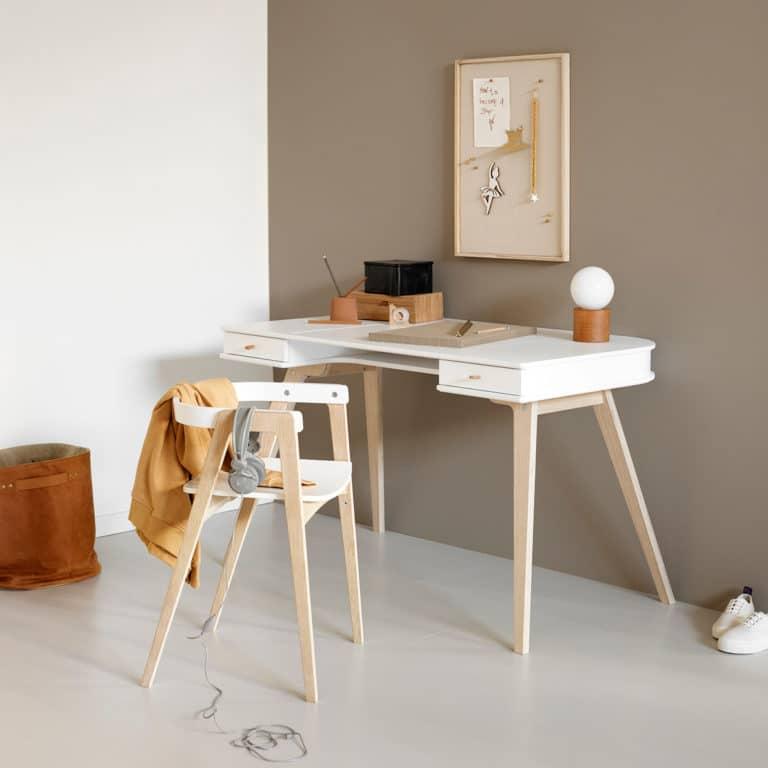 Oliver Furniture Wood Schreibtisch 72,6 cm & Armlehnstuhl 2
