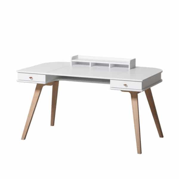 Oliver Furniture Wood Schreibtisch 66 cm & Armlehnstuhl 3