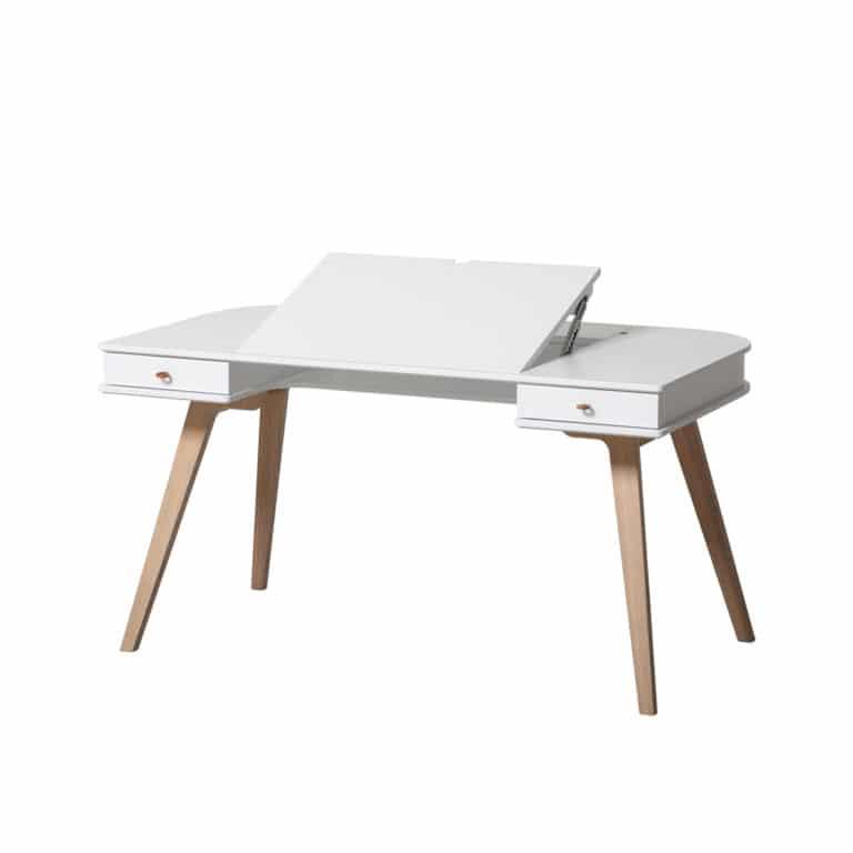Oliver Furniture Wood - Extra Tischbeinset für Schreibtisch Tischhöhe 72,6 cm 2