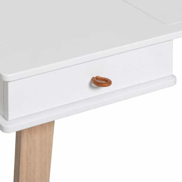 Oliver Furniture Wood Schreibtisch 66 cm & Armlehnstuhl 7