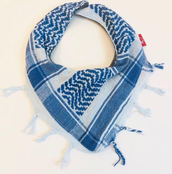 Pali-Tuch blau/weiß