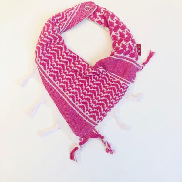 Pali-Tuch pink/weiß