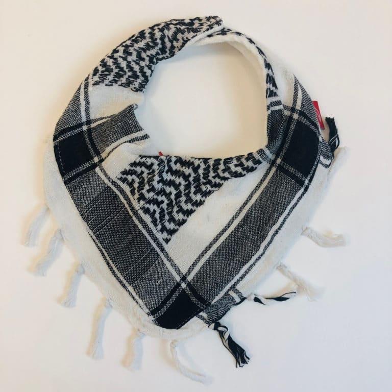 Pali-Tuch schwarz/weiß