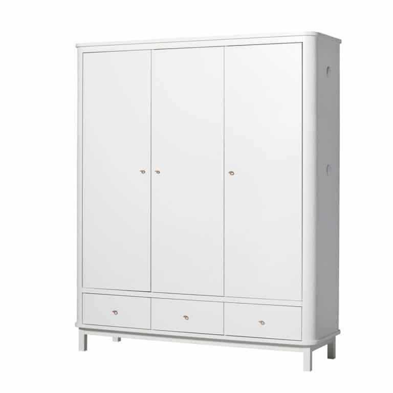 Oliver Furniture Wood Kleiderschrank 3-türig 4