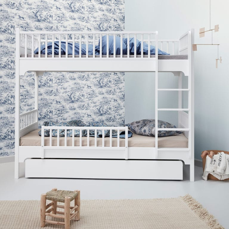 Oliver Furniture Seaside Etagenbett mit gerader Leiter 2