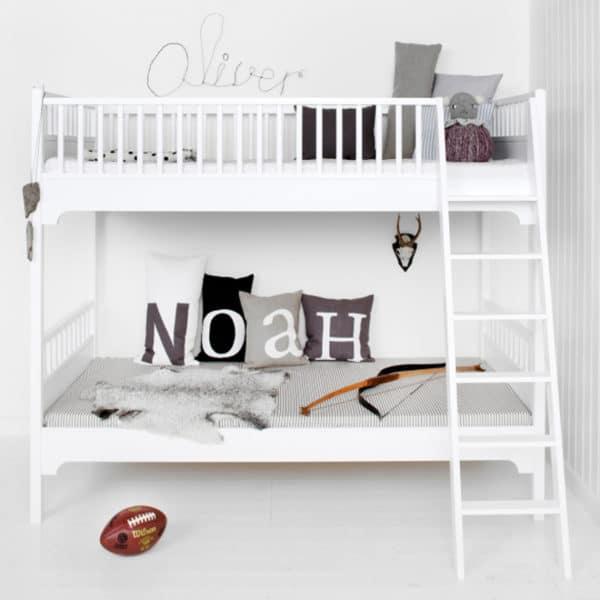Oliver Furniture Seaside Etagenbett mit schräger Leiter 2