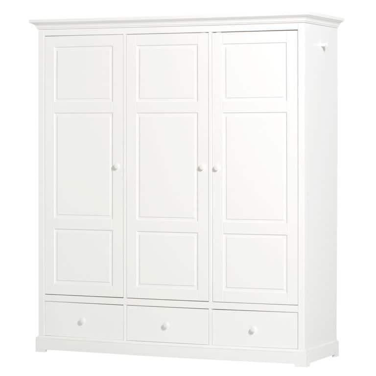 Oliver Furniture Seaside Kleiderschrank mit 3 Türen