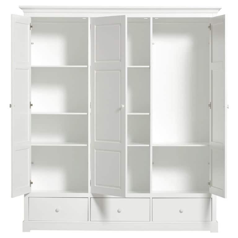 Oliver Furniture Seaside Kleiderschrank mit 3 Türen 2