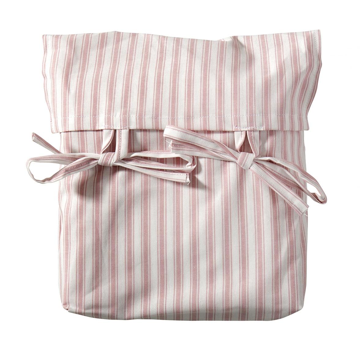 Oliver Furniture Seaside Vorhang für Etagenbett & halbhohes Hochbett rosa-Streifen