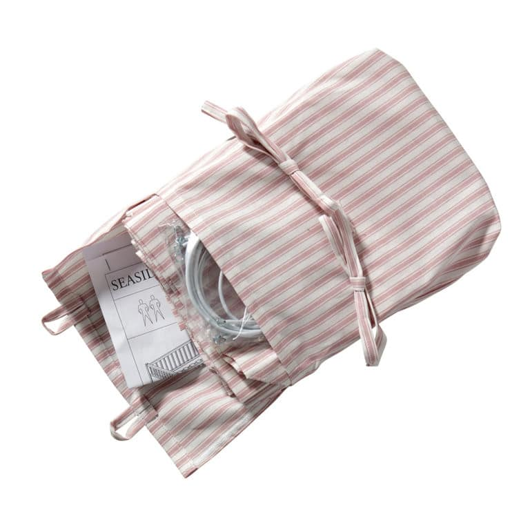 Oliver Furniture Seaside Vorhang für Lille+ halbhohes Hochbett rosa-Streifen
