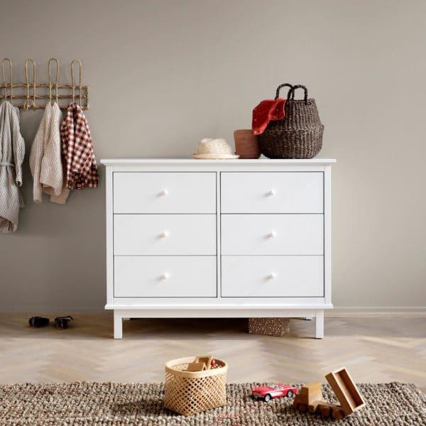Oliver Furniture Seaside Wickelkommode mit 6 Schubladen 2