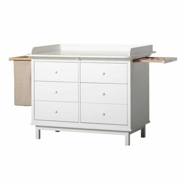 Oliver Furniture Seaside Wickelkommode mit 6 Schubladen 4