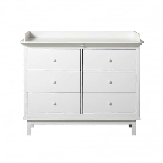 Oliver Furniture Seaside Wickelkommode mit 6 Schubladen 3
