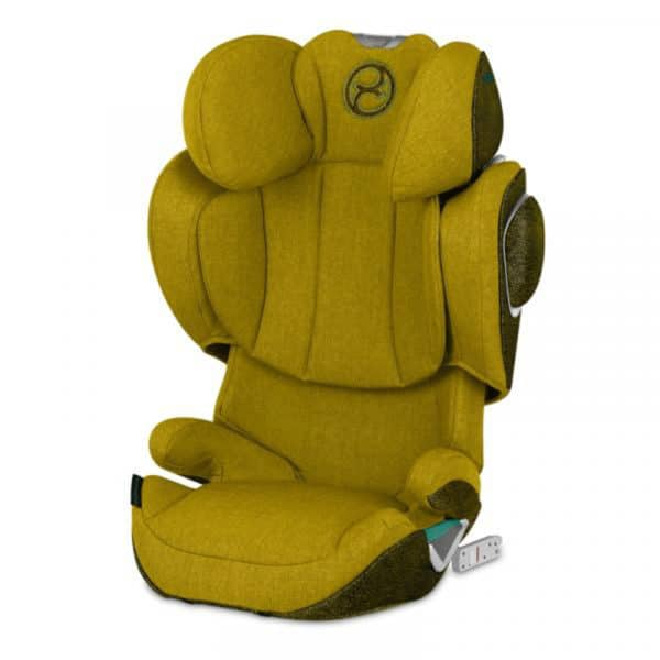 CYBEX Solution Z i-Fix Mustard-Yellow-Plus