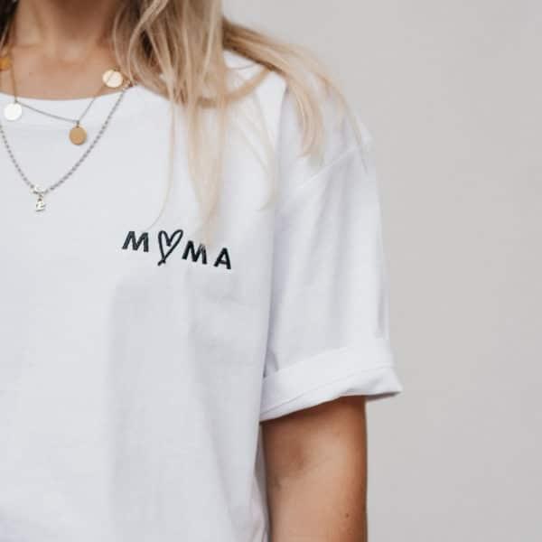 """Famvibes T-Shirt """"Mama"""" - weiß 3"""