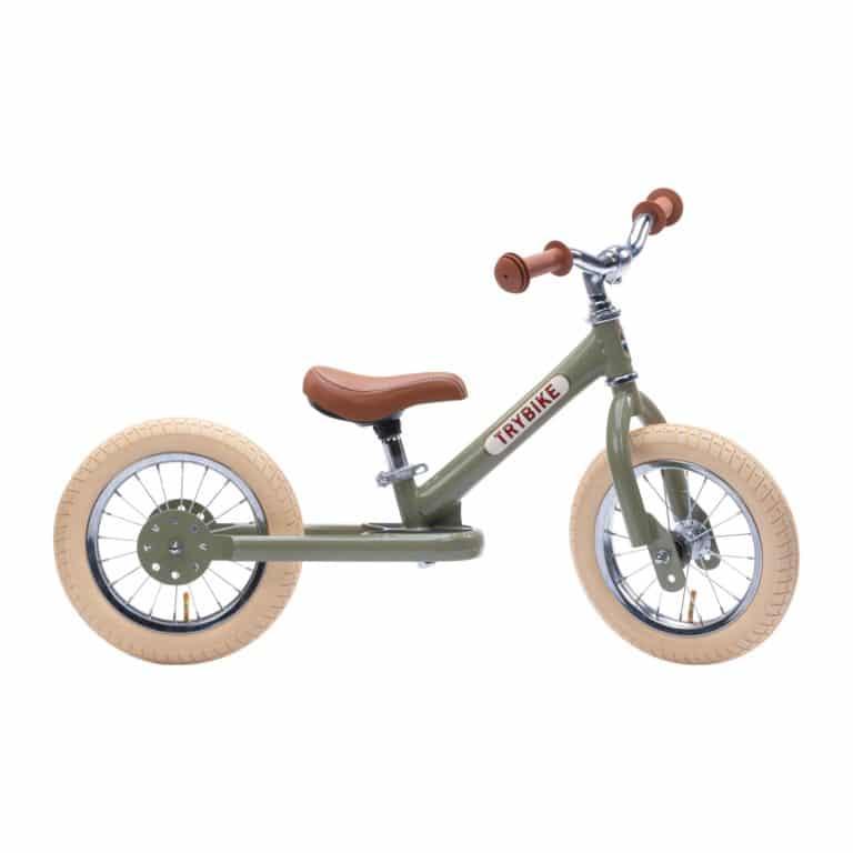 Trybike Dreirad / Laufrad 2in1 vintage-green