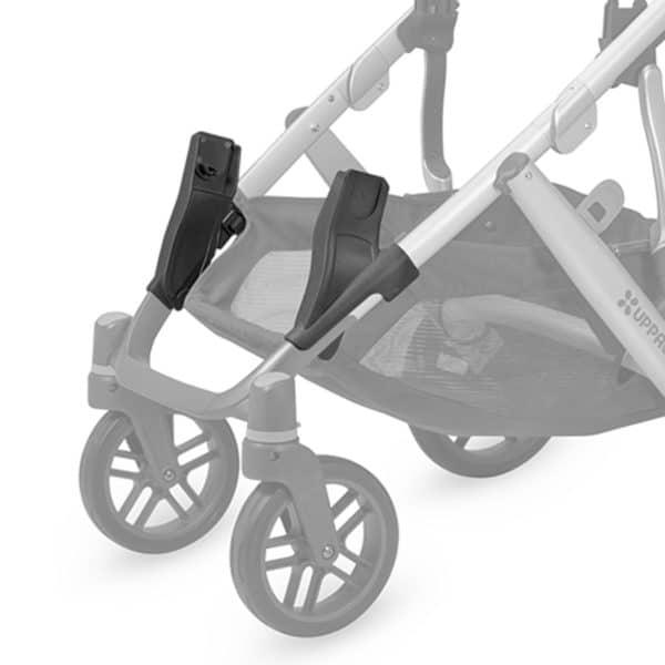 Uppababy Unterer Autositzadapter für Vista2 (für ausgewählte Autositze von Maxi-Cosi®, Cybex & Nuna®) 2