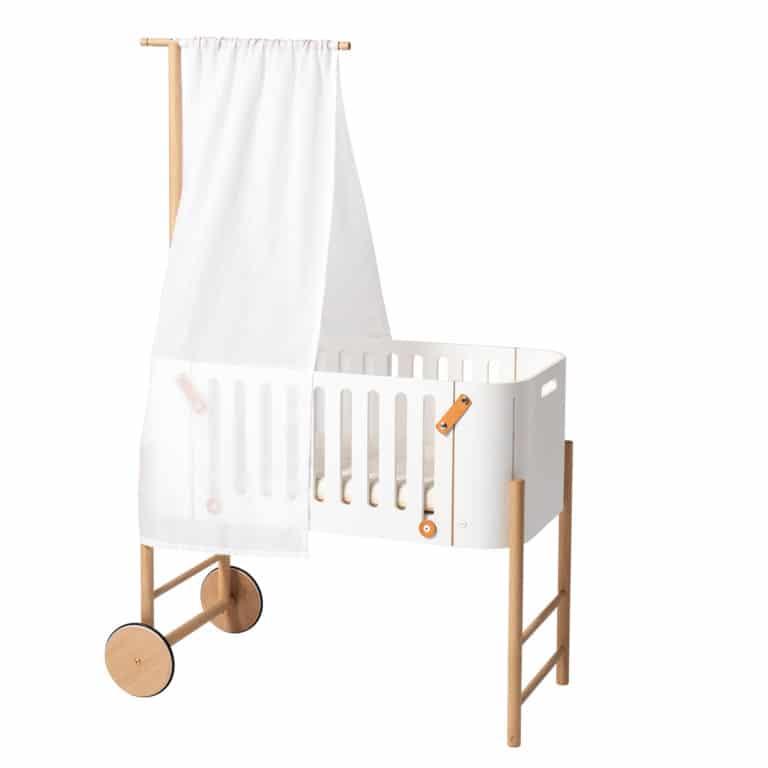 Oliver Furniture Betthimmel für Wood Beistellbett, weiß 2