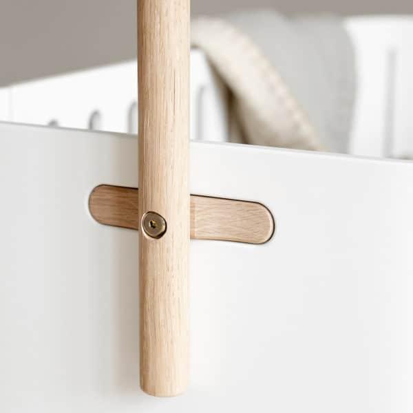 Oliver Furniture Wood Himmelstange für Betthimmel & Mobile, Eiche 4